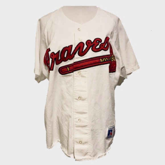 timeless design 12634 5de54 1990s Vintage Atlanta Braves Jersey • Medium